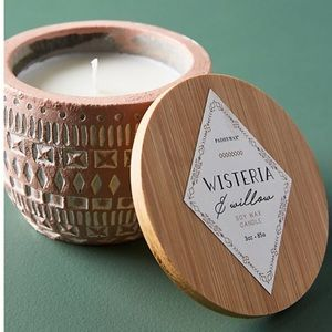Anthropologie Paddywax Sonora Candle WISTERAWILLOW